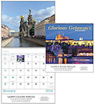 Glorious Getaways Spiral Wall Calendars